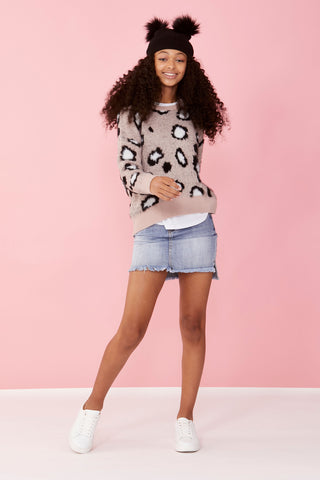 Girls Piper Animal Jumper