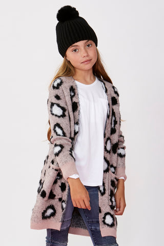 Girls Piper Animal Cardigan