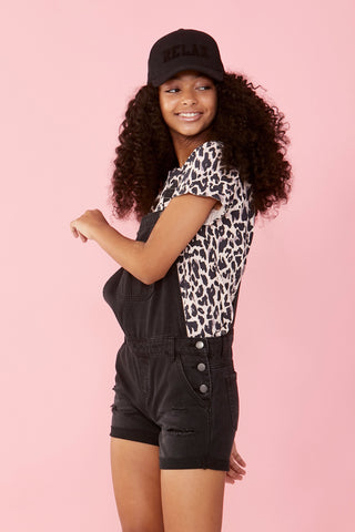 Girls Animal Print Tee
