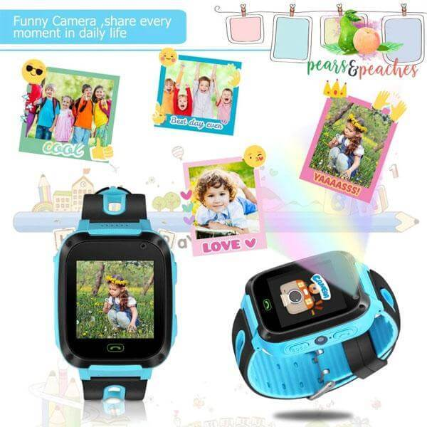 KIDSAFE -GPS POSITIONING SMART WATCH