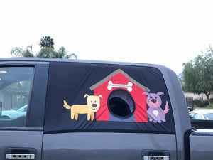 Pet Car Curtains——A Safe Way For Your Dog To Hang Out The Car Window