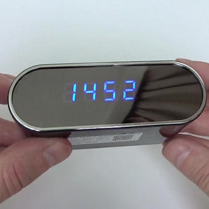 Alarm Clock With Hidden HD Camera WiFi