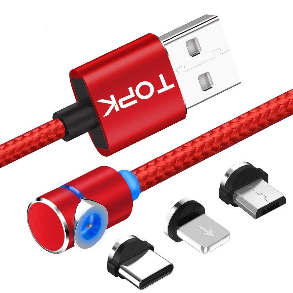 360 Degree Magnetic Charging Cable