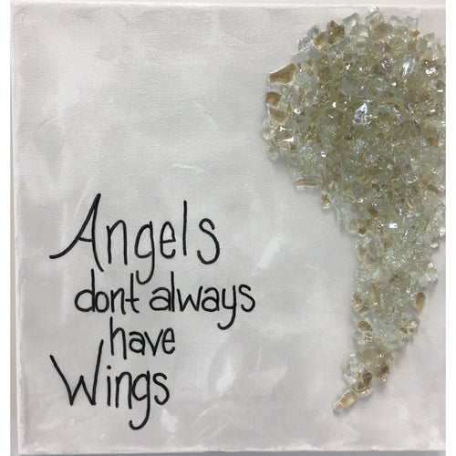 Angel Wings 12 x 12