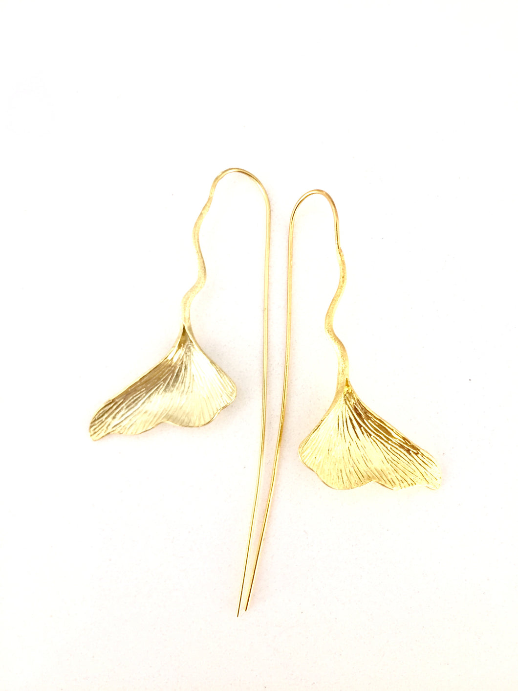 KRINOS- STERLING SILVER/GOLD PLATED  EARRINGS