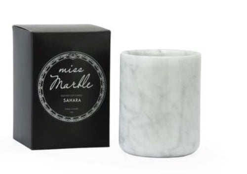MISS MARBLE CANDLE- SAHARA