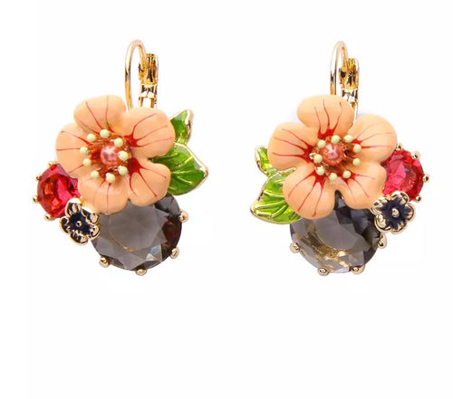 LAYLA-FLOWER DROP EARRING
