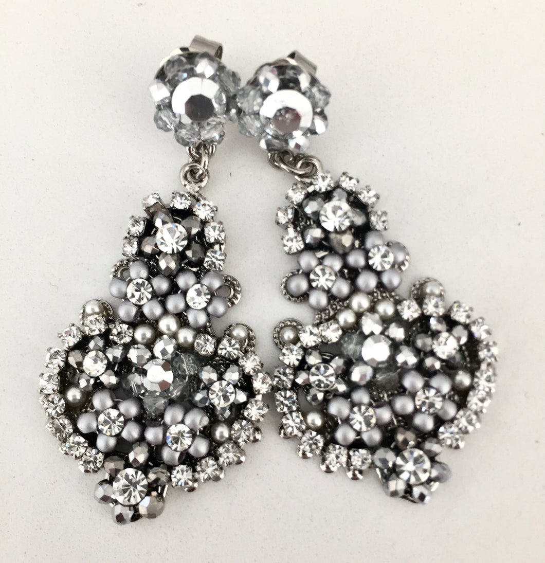 VALENTINA- SILVER EARRINGS