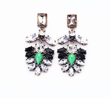 MENTA- RHINESTONE DROP EARRINGS