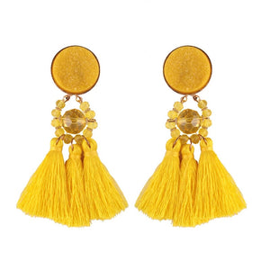 LELLO- FUN TASSEL EARRINGS