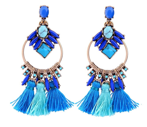 LOHA- TASSEL EARRINGS