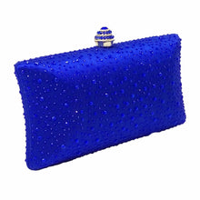 MAYA- CRYSTAL CLUTCH/BAG- BLUE