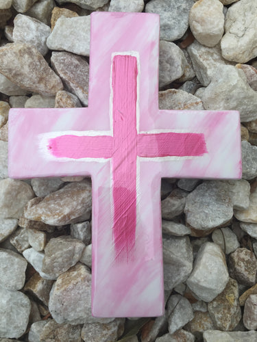 LEEMYSOUL RESIN CROSS- PINK