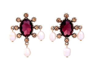 MEAGHAN PEARL DROP EARRINGS