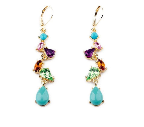 RIVER DANCE -MULTICOLOUR EARRINGS