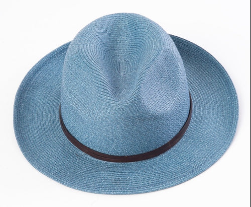 BORSALINO-DENIM HAT