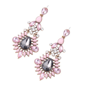 LEILA- CHANDELIER EARRINGS