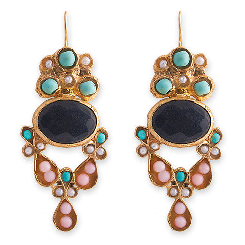 SAVANNAH EARRINGS- BIANC BOHEME COLLECTION
