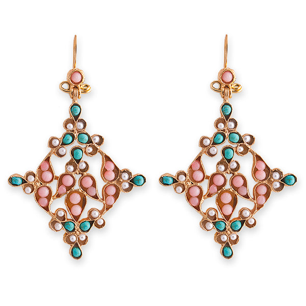 EMILY 2 EARRINGS- BIANC BOHEME COLLECTION