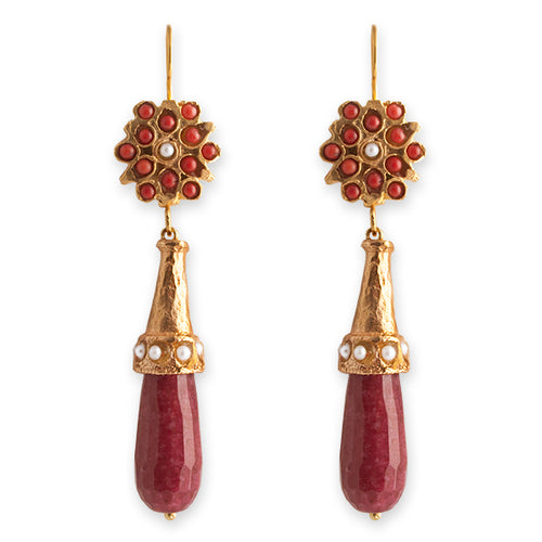 SCARLETT EARRINGS- BIANC BOHEME COLLECTION