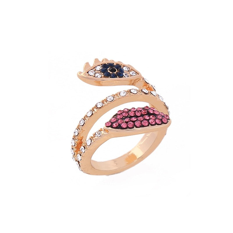 SALE ITEM- EVIL EYE RING