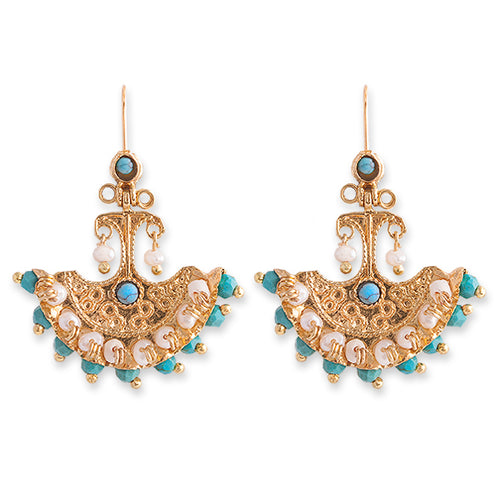 MILA EARRINGS- BIANC BOHEME COLLECTION