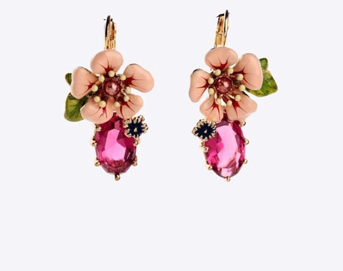 LOULOU- FLOWER DROP EARRING