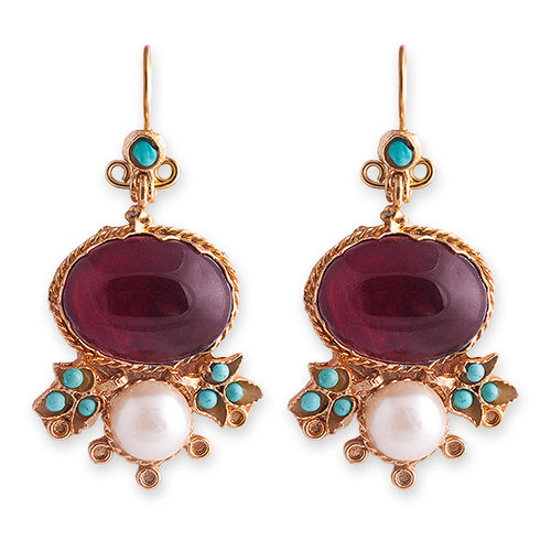 BELLA EARRINGS -BIANC BOHEME COLLECTION
