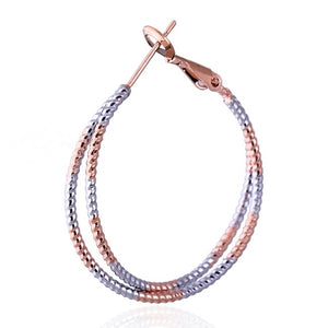 MOONWALK - 2 TONE HOOPS