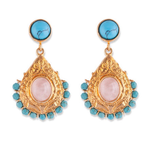 GEORGIA-BIANC DROP EARRINGS