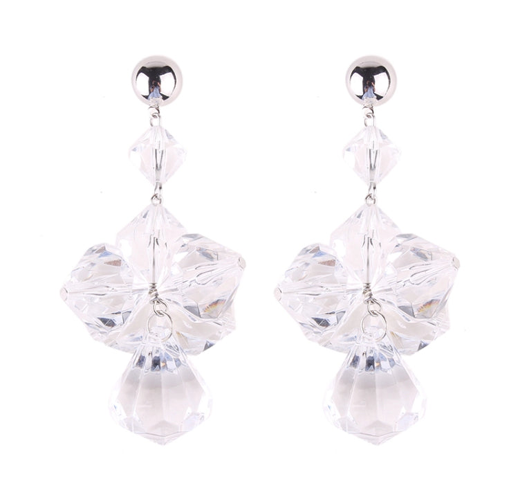 YMA- RESIN CRYSTAL DROP EARRING