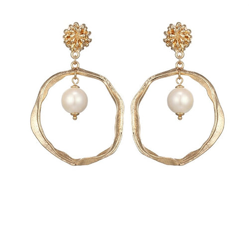 ANIA- GOLD EARRINGS