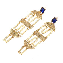 HANNAH- GOLD DANGLE EARRINGS