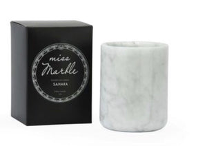 MISS MARBLE CANDLE- TUBERLOSE