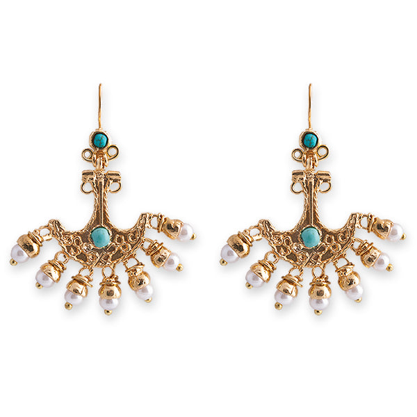 SOPHIA EARRINGS- BIANC BOHEME COLLECTION