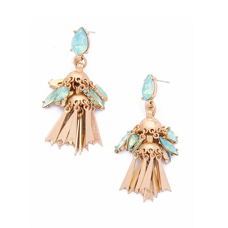 DEEPA- TASSEL DROP EARRINGS