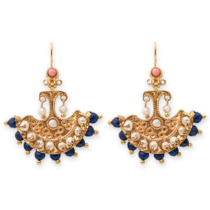 FLORENCE EARRINGS- BIANC BOHEME COLLECTION