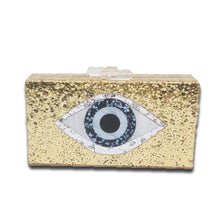 MATI BOX CLUTCH- GOLD