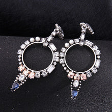 LOVEISALLAROUND- CRYSTAL PAVE DROP EARRINGS