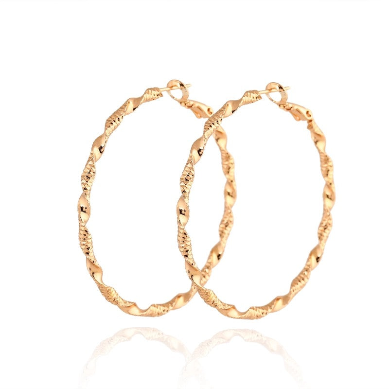 SWISH HOOPS-GOLD