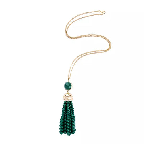 TIFFANY NECKLACE- GREEN