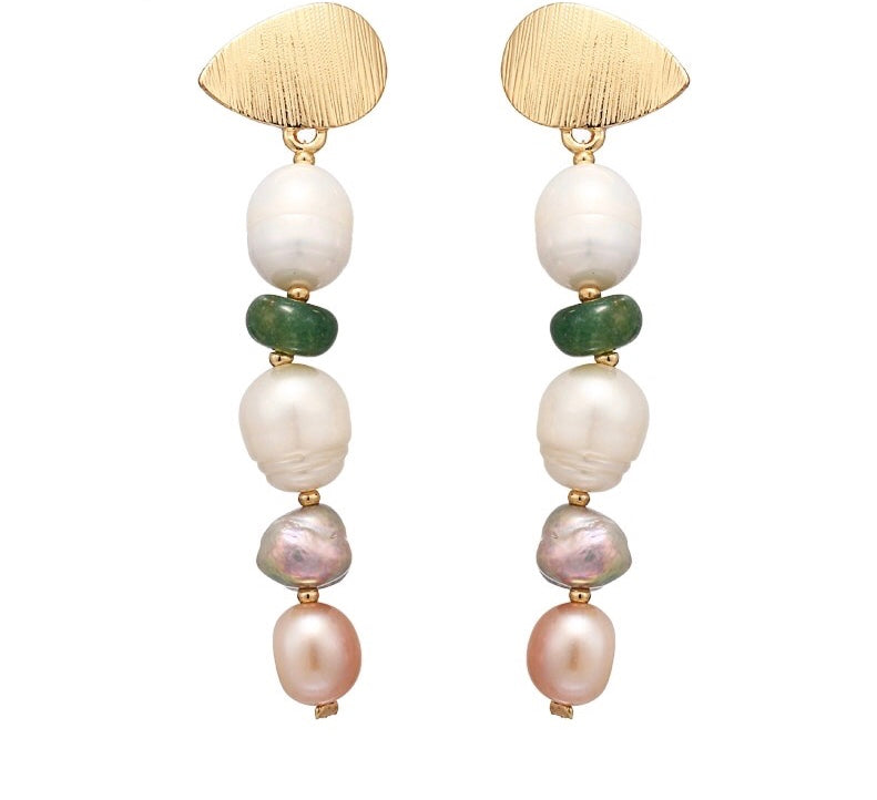 NEPTUNE'S WONDERS- PEARL DROP EARRINGS
