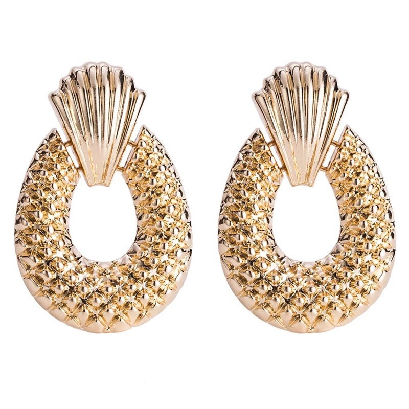 KORONA- GOLD EARRINGS
