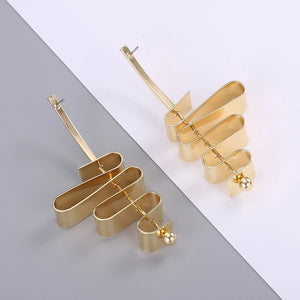 KYMA- TWIST EARRINGS- GOLD