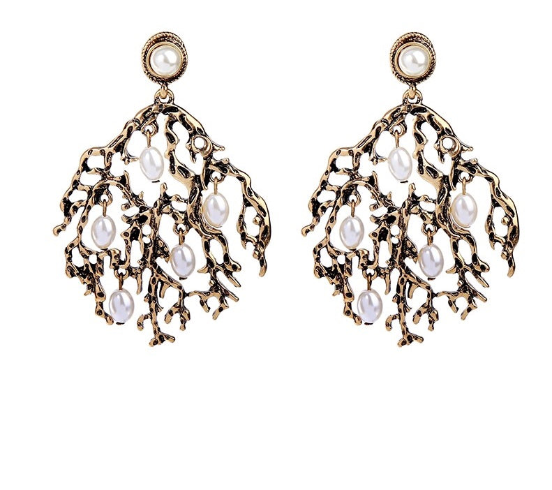 DELFINE- ANTIQUE EARRINGS