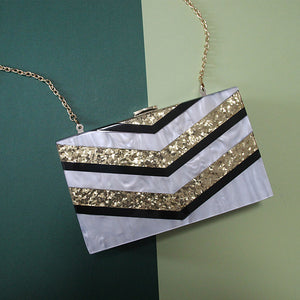 GATSBY BOX CLUTCH