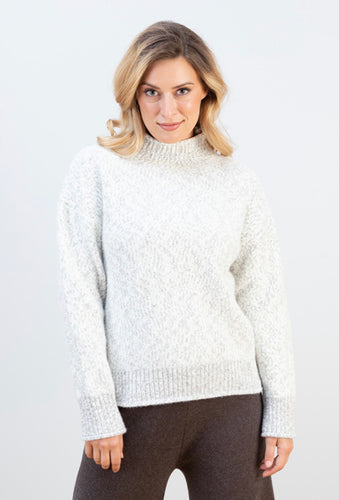 JJ SISTERS- MOYA WOOL BLEND KNIT- 2 COLOURS