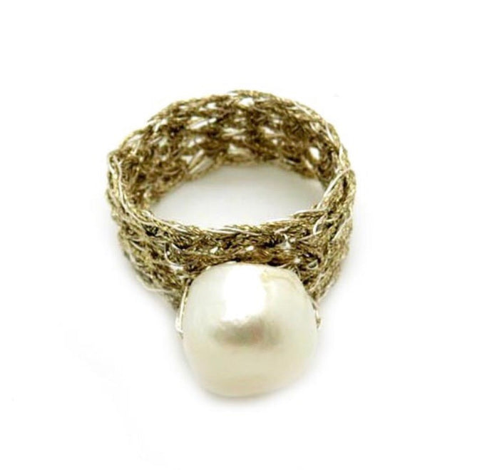AUDREY- PEARL RING