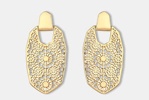 MOROCCAN GEOMETRIC EARRINGS- 2 COLOURS