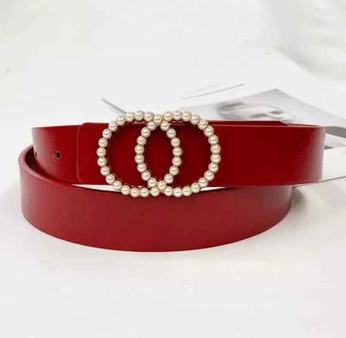 PEARLESQUE BELT -4 COLOURS